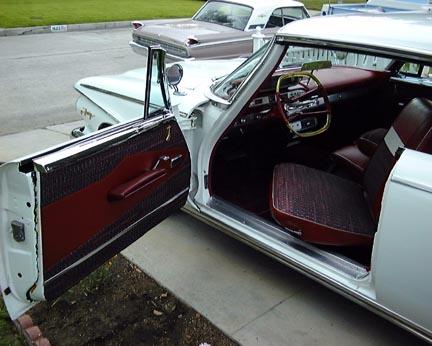 1960 Plymouth Fury 2 Door hard